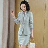 西裝套裝外套+短裙(兩件套)-翻領修身時尚休閒女西服4色73yz48[巴黎精品]