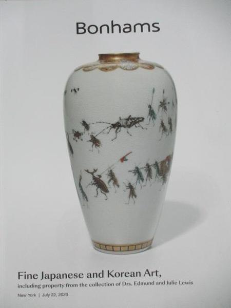 【書寶二手書T3/收藏_DIF】Bonhams_Fine Japanese and Korean Art, including Property…2020/7/22