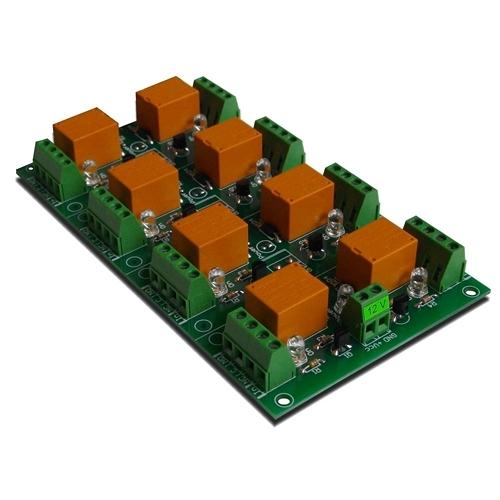 [2美國直購] denkovi 繼電器板 8 Channel relay board for your Arduino or Raspberry PI 12V
