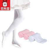 連褲襪夏季薄款女童打底褲白色絲襪春秋跳舞專用舞蹈襪子 雙十二全館免運