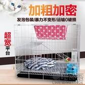 貓籠 貓別墅 二層折疊加密便攜小型三層大號豪華外出龍貓寵物 快速出貨