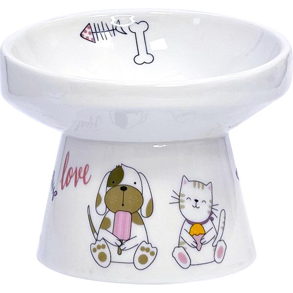 【寵大爺】【PANS】護頸寵物瓷碗L