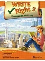 二手書博民逛書店 《Write Right Paragraph to Essay. 2 (Korean edition)》 R2Y ISBN:9788959977161│JiaK.Johnson