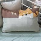 Kiro貓‧小柴犬 水洗布 拉鍊 枕頭套/不含枕心【830011017】