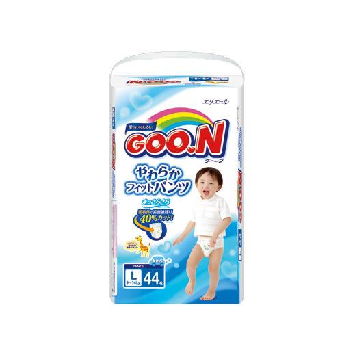 日本大王境內版紙尿褲 L*44片(男生)【愛買】