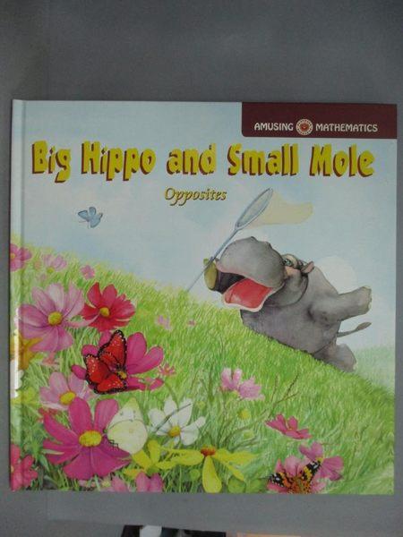 【書寶二手書T4/少年童書_ZCY】Big Hippo and Small Mole_G.O.B