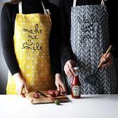圍裙 家用廚房男女 背心式韓版防油面包店 降價兩天