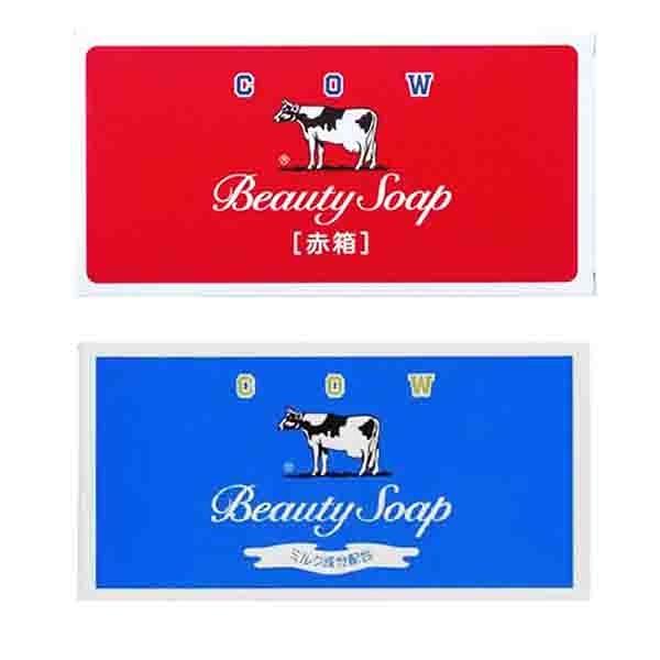 日本牛乳石鹼 牛乳香皂3入裝 玫瑰滋潤型100gx3入/茉莉清爽型85gx3入