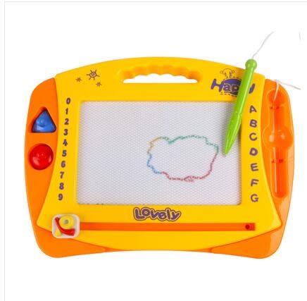 兒童彩色磁性可擦寫卡通寫字板LVV1374【KIKIKOKO】