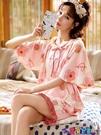 家居服 睡衣女夏季短袖純棉薄款兩件套裝大碼2021年新款春天家居服寶貝計畫 上新