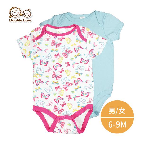 歐美春夏 6-9M 短袖包屁衣 新生兒服 兔裝 連身衣 造型服 媽媽寶寶童裝 【GE0007】