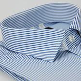 【金‧安德森】藍白條紋窄版長袖襯衫