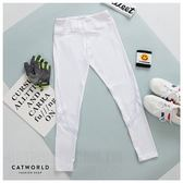 Catworld 設計感網紗彈力運動褲【12001679】‧S/M/L/XL
