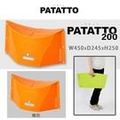 PATATTO 200 日本摺疊椅 日本椅 露營椅 紙片椅 日本正版商品 (橘)