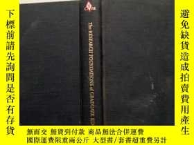 二手書博民逛書店The罕見RESEARCH FOUNDATIONS of GRA