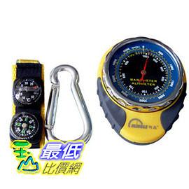 [玉山最低網]  明高高檔多功能高精機械式高度計(氣壓計、溫度計、指南針)海拔表 dh088