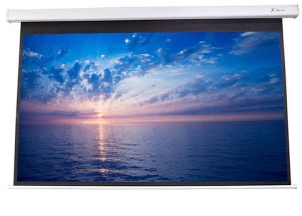 【名展音響】150吋4:3遙控線控電動布幕(上黑30cm,四角).另有億立PVMAX150UWV2