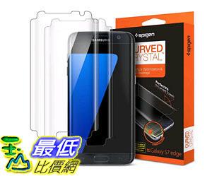 [105美國直購] 螢幕保護膜 Galaxy S7 Edge Screen Protector Curved Crystal Premium 2 PackFilm 556FL20257