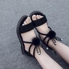 女童涼鞋 2020新款韓版夏季小公主鞋中大童學生小女孩兒童涼鞋軟底【快速出貨】