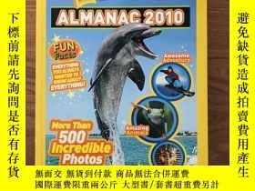 二手書博民逛書店Almanac罕見2010 for Kids National GeographicY445475 Natio