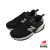 New Balance 574 黑色 麂皮 網布 休閒運動鞋 女款 NO.B1002【新竹皇家 MS574ACL】
