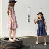 女童連衣裙夏季裝兒童公主裙子