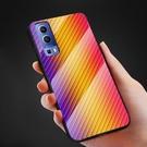 Vivo Y72 5G 手機殼 保護套 碳纖維紋 防撞防滑 玻璃 硅膠邊 硬殼 全包邊防摔 玻璃殼 商務 簡約素色