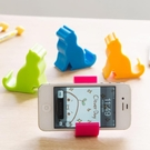 [超豐國際]大象懶人床頭手機IPAD小支架 創意多功能看電視平板
