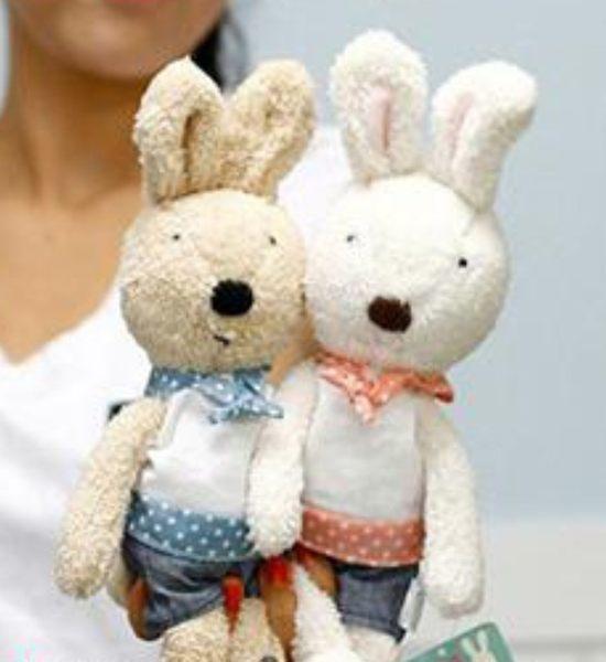 娃娃屋樂園~Le Sucre法國兔砂糖兔(學生服款)30cm250元另有45cm60cm90cm120cm
