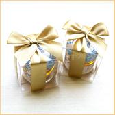 幸福朵朵【甜蜜蜜「透明盒裝」瑞士進口hero蜂蜜小禮盒(金色緞帶)】送客禮贈品/婚禮小物