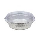 (附蓋) 5入 圓形9吋 鋁箔容器 年菜盒【H2050】 外匯盒 辦桌 烘烤盒 錫箔盒 烤模 蛋糕模 火鍋碗