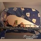 床簾蚊帳一體式兩用學生宿舍用蚊帳上下床遮光布上鋪簾子寢室帳篷 果果輕時尚NMS