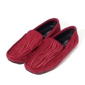 真皮懶人鞋 線條-英倫時尚休閒套腳男休閒鞋3色73kv79【巴黎精品】