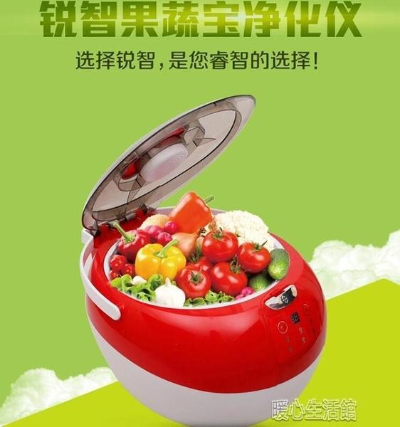 果蔬臭氧機 果蔬肉清洗消毒機家用臭氧解毒機水果蔬菜食材凈化器洗YJT 暖心生活館