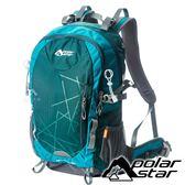 【PolarStar】透氣網架背包35L『藍』P18713 露營.戶外.旅遊.多隔間.登山背包.後背包.肩背包.行李包