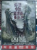 影音專賣店-Y70-059-正版DVD-電影【凶鱷】-蕾哈蜜雪兒 麥可瓦頓 山姆華盛頓 勞勃泰勒