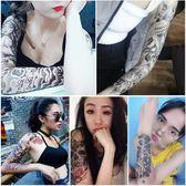 尾牙禮品4全臂 4半臂防水紋身貼花臂男女 持久3D仿真性感遮痕刺青身體彩繪貼紙聖誕交換禮物