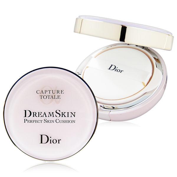 Dior 迪奧 夢幻美肌氣墊粉餅 (空盒x1入+粉蕊15g x2入) #012粉膚【QEM-girl】