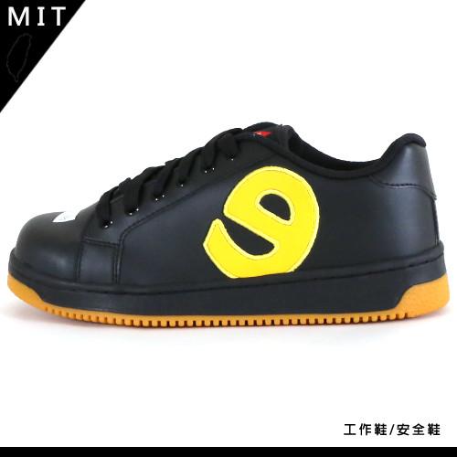 男款 MIT休閒綁帶鋼頭強化防穿刺滑板 鋼頭鞋 勞保鞋 工作鞋 安全鞋 勞工鞋 59鞋廊