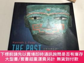 二手書博民逛書店the罕見past in perspective an introduction to human prehist