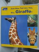 【書寶二手書T4/少年童書_QXU】Just How Tall Are You,Miss Giraffe?_附光碟