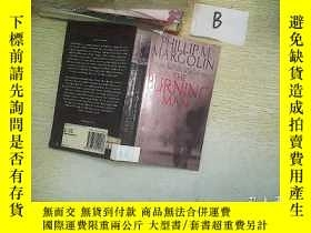 二手書博民逛書店THE罕見BURNING MAN.Y261116