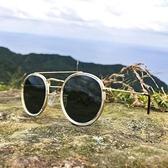 【南紡購物中心】2is JoeW 太陽眼鏡│雙樑圓框│金屬框架│抗UV400