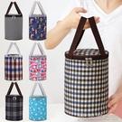 便當包丨飯袋便當包保溫桶袋子手提圓形飯盒袋便當盒飯桶保溫袋帶飯手提袋 【618特惠】