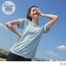 《KS0815》台灣製觸覺涼感反褶袖上衣...