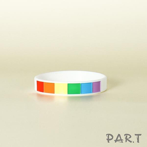 【PAR.T】六彩矽膠手環