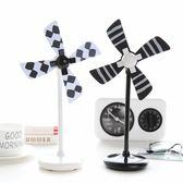 桌面辦公室USB迷你夏季小風扇創意學生宿舍小型電風扇靜音便攜 中秋烤肉架88折熱賣