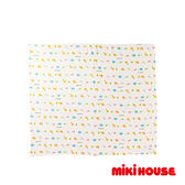 MIKI HOUSE BABY 日本製 動物圖案多用途雙層紗布巾(多色)