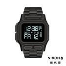【酷伯史東】NIXON THE REGULUS SS 霧黑色 鋼錶帶 美國特種部隊認證錶 雙時區 五年續航 美式風格