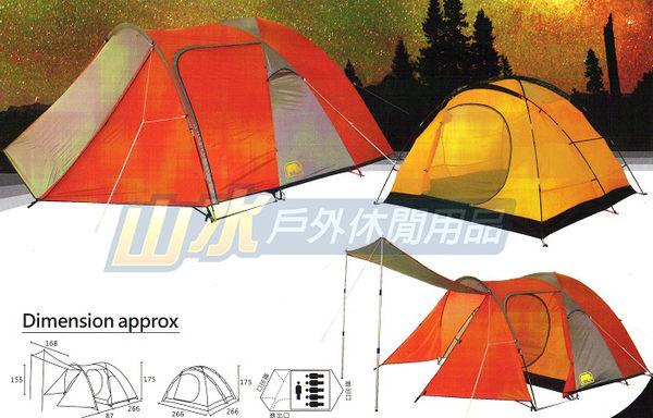 【山水網路商城】台灣製造 非Snow Peak SDE-003 AD/浩克屋/犀牛六人家庭城堡帳 A-066